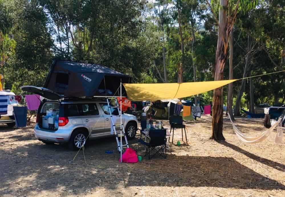 Campingplatz Westküste Korsika