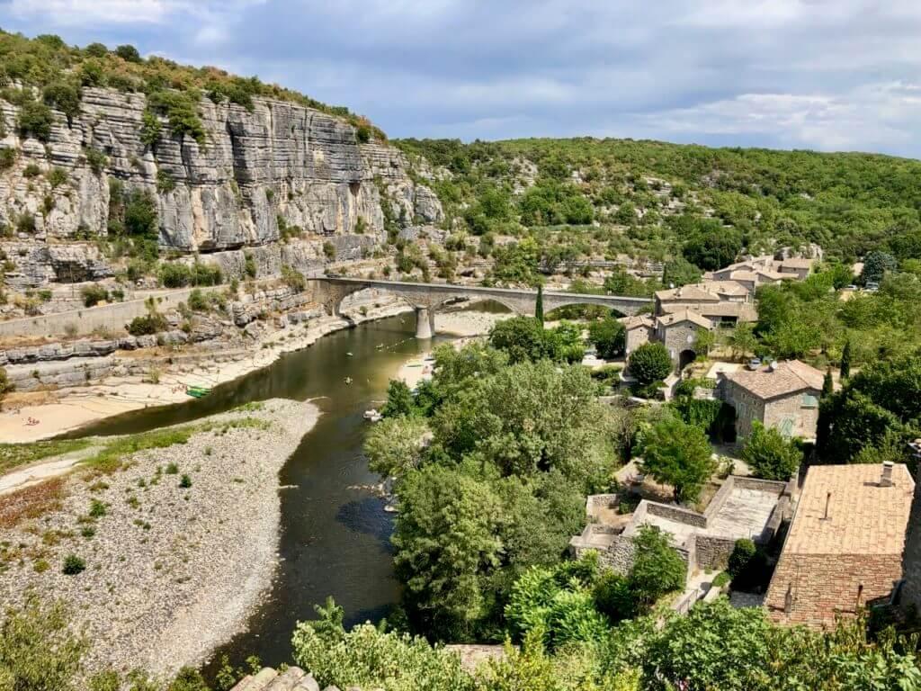 Balazuc eines der schönsten Orte Frankreichs