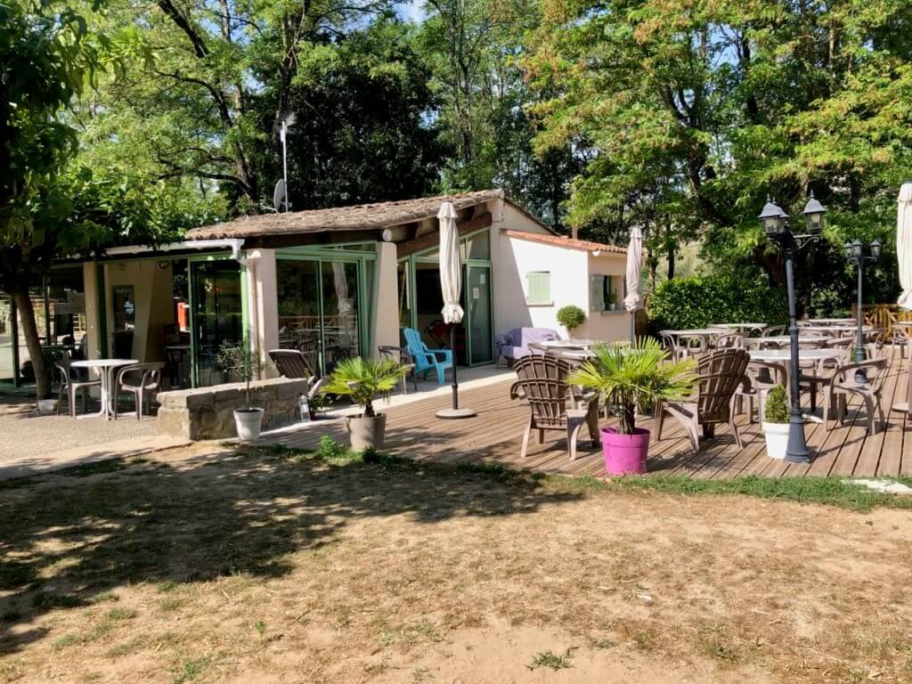Rezeption Camping Falaise - Ardeche