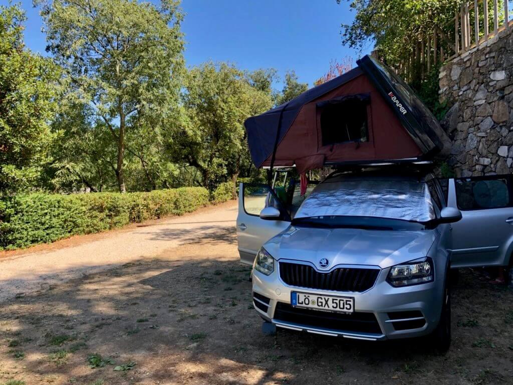 Stellplatz Camping De L'arche nähe Ardeche